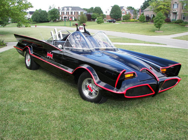 fcb197942b Notably in the Batmobile case, there appears to be a company that is  officially licensed to make replica 1966 Batmobiles, Fiberglass Freaks, ...