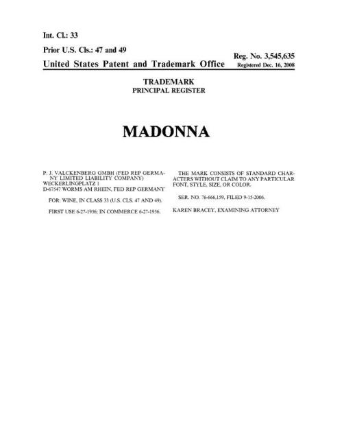 MadonnaWine