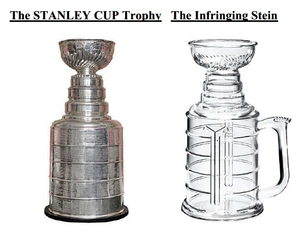 At issue is the NHL s rights in the design of its championship trophy e06c8974b